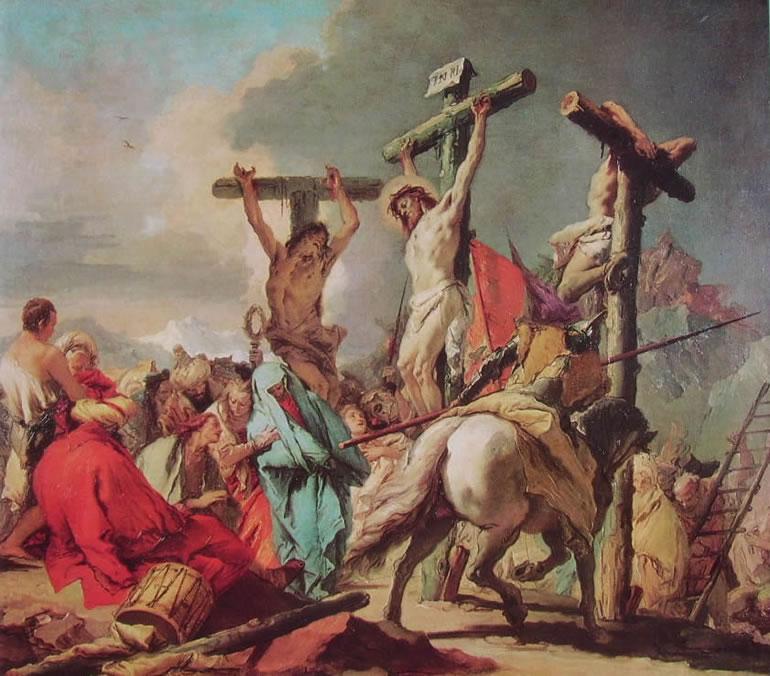 37 Gian Battista Tiepolo - la crocifissione