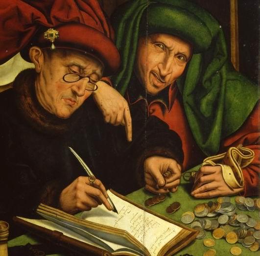 Marinus-van-Reymerswaele-Gli-usurai-1540